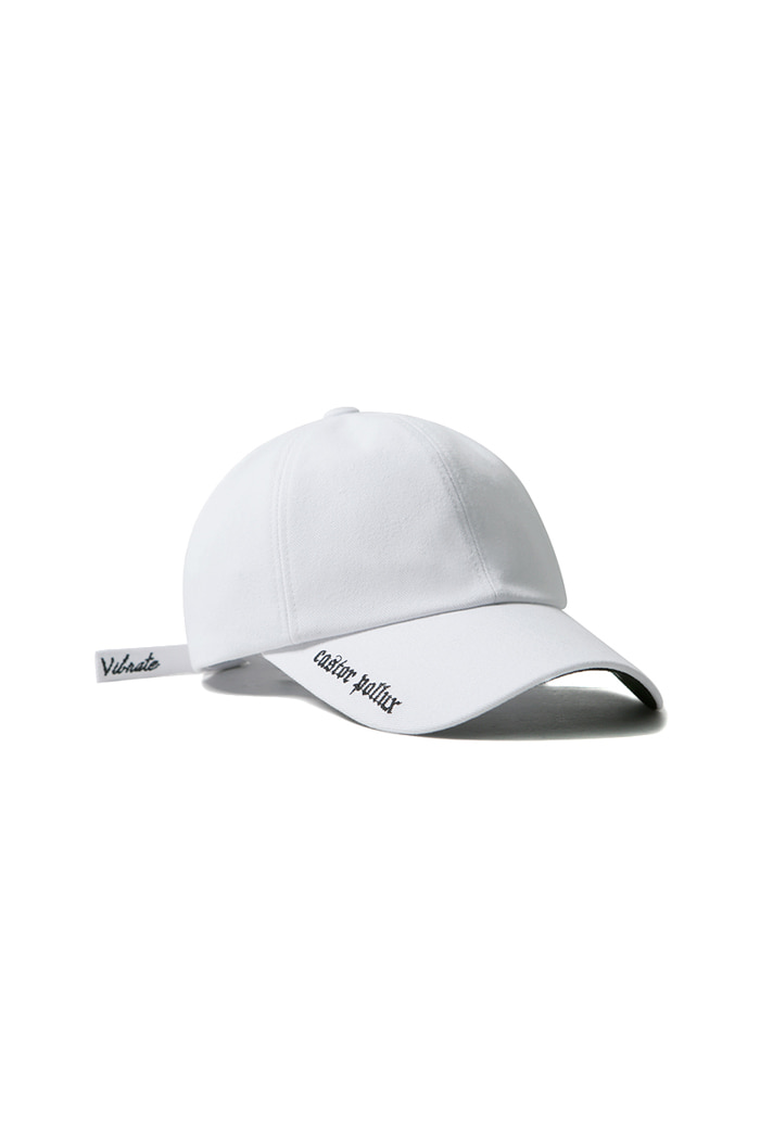 VIBRATEKIDS - DOUBLE SIDE BALL CAP (WHITE)