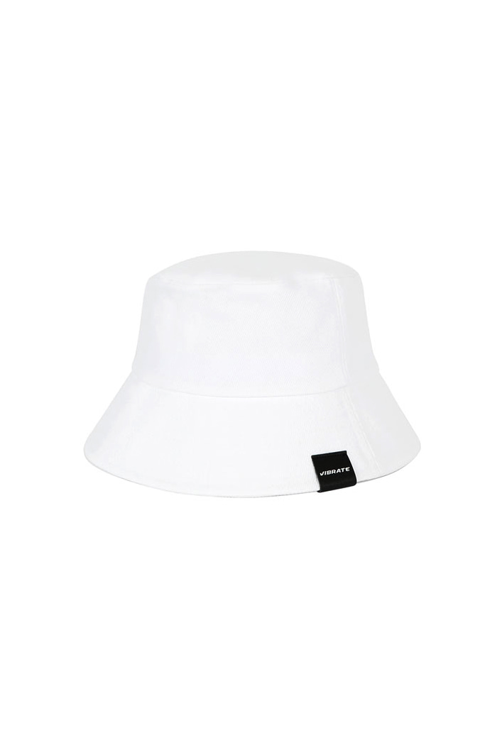 VIBRATEKIDS - REAL COTTON BUCKET HAT (WHITE)
