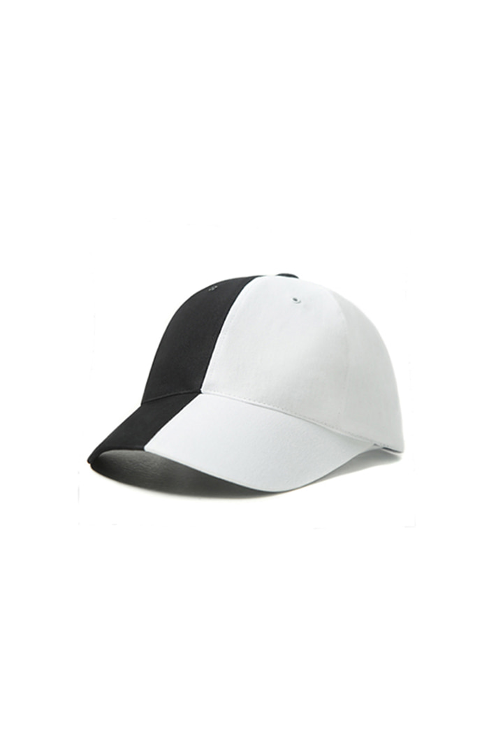 VIBRATEKIDS - COTTON COLOR INVERSION BALL CAP (BLACK)