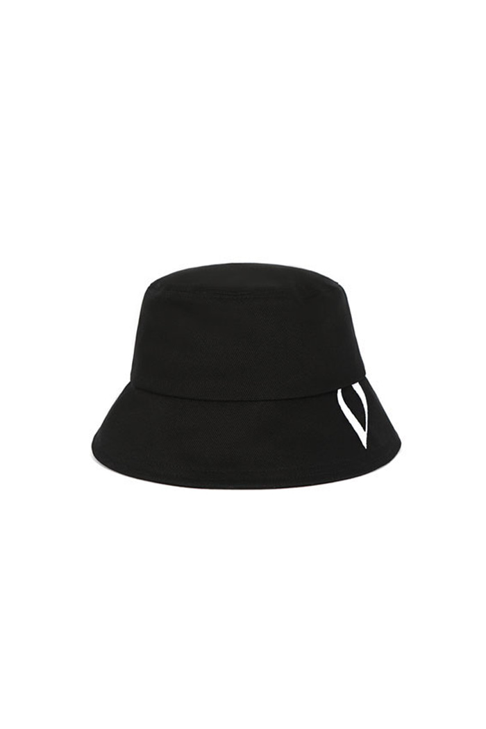 VIBRATEKIDS - HUGE V BUCKET HAT (BLACK)