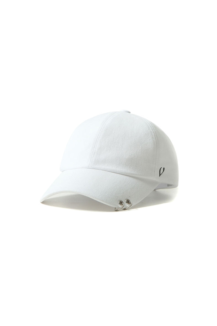 VIBRATEKIDS - TWIN RING BALL CAP (WHITE)