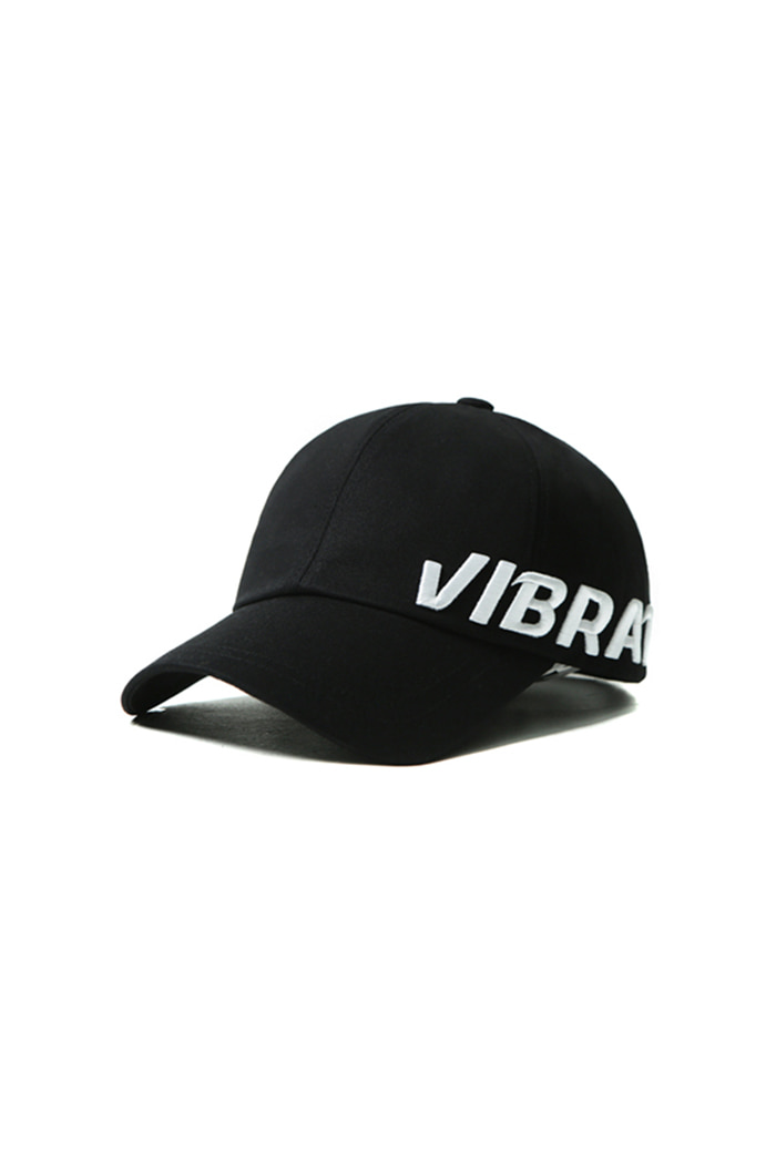 VIBRATEKIDS - SIDE SIGNATURE CAP (BLACK)