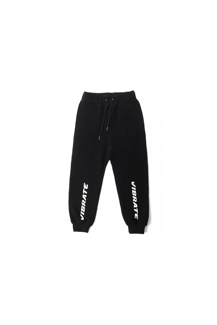 VIBRATEKIDS - SIGNATURE JOGGER PANTS (BLACK)