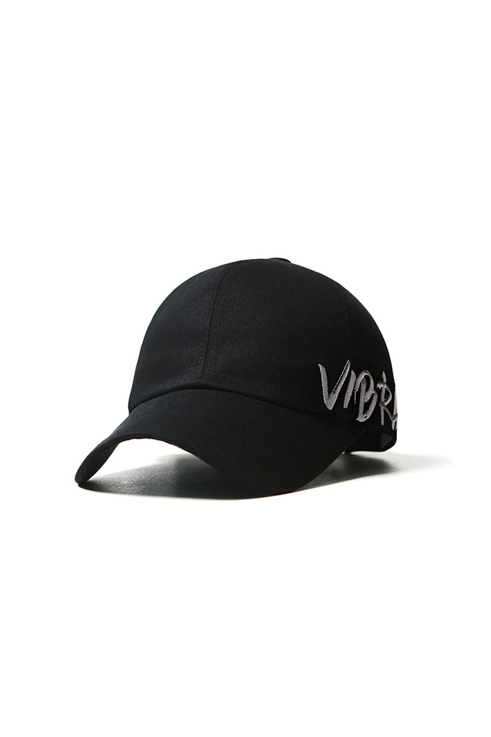 VIBRATEKIDS - BY THE SIDE BALL CAP (BLACK)