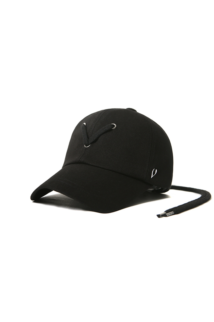 VIBRATEKIDS - STRING POINT BALL CAP (BLACK)