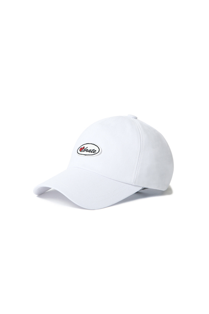 VIBRATEKIDS - LOVE WAFFEN BALL CAP (WHITE)