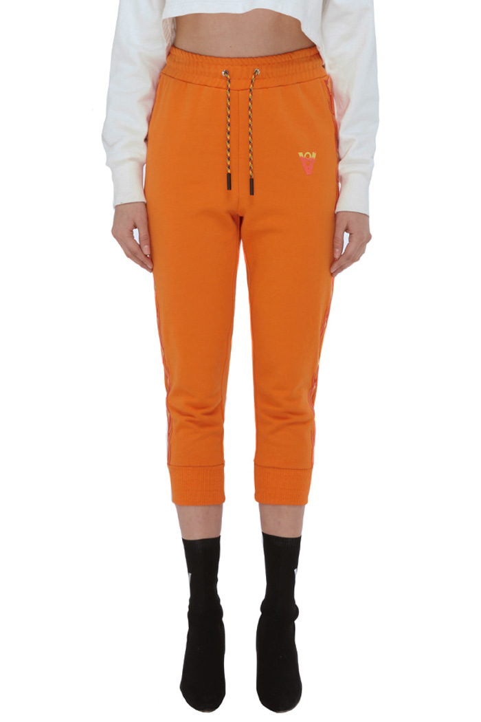 FLAME STITCH WOMEN'S PANTS (ORANGE)