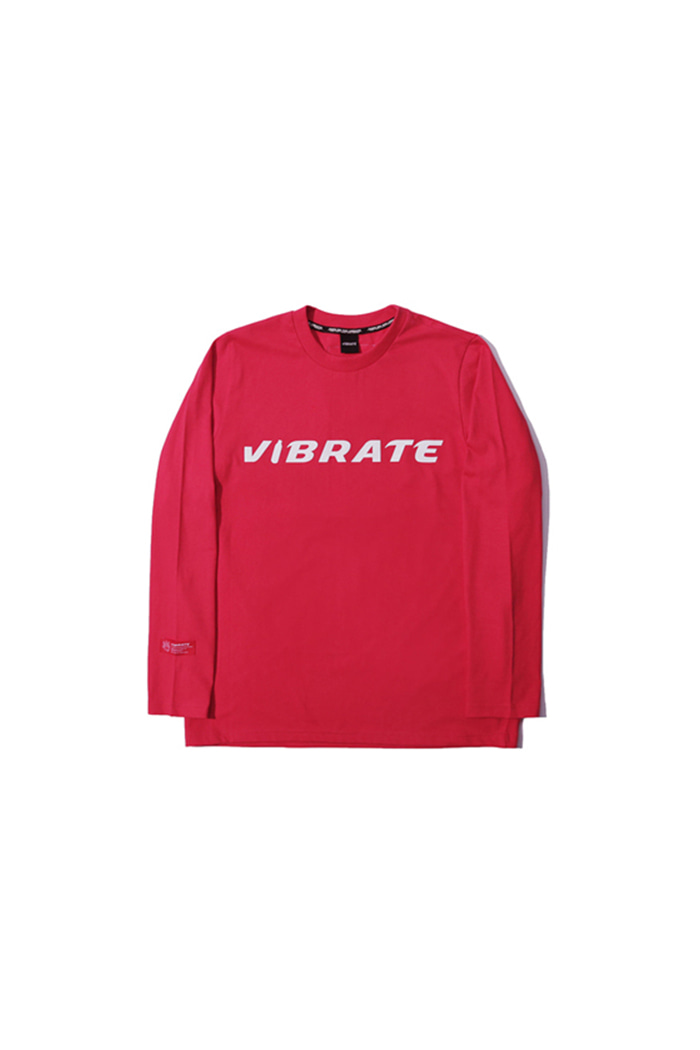 BOTTLE LOGO LONG SLEEVE (RED)