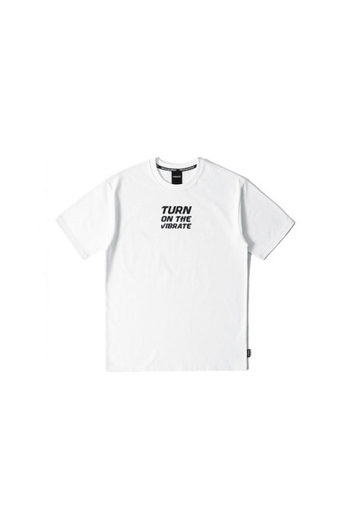 TURN ON THE T-SHIRT (WHITE)