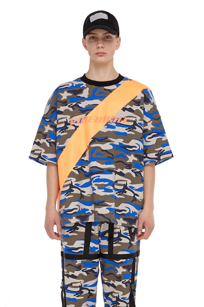 SCOTCHLITE OBLIQUE LINE TOP (CAMO)