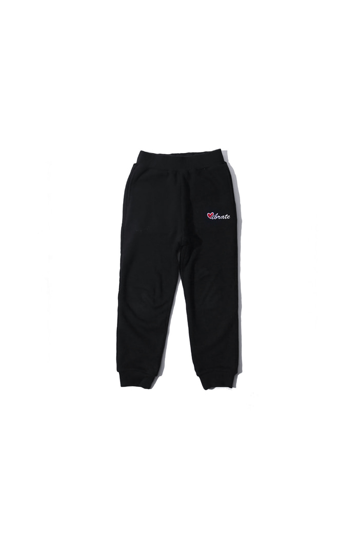 VIBRATEKIDS - LOVE JOGGER PANTS (BLACK)