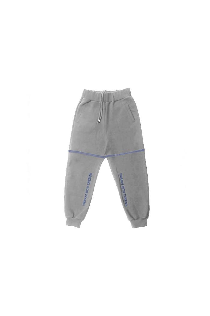 VIBRATEKIDS - WITH TENSION JOGGER (GRAY)