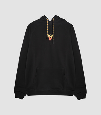 VIBE8IGHT ON BACK HOODIE (BLACK)