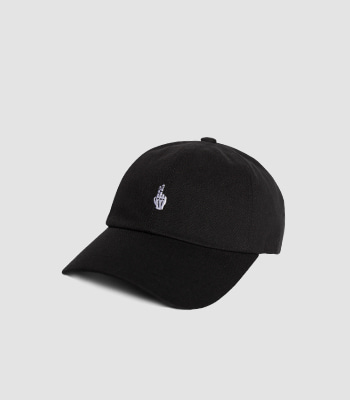 VIBRATE - FINGER BALL CAP (WASHING BLACK)