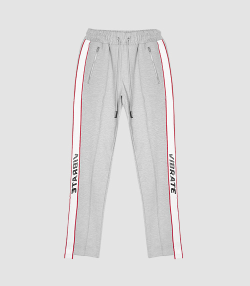 VIBRATE - SPACE TRIP ROAD PANTS (GRAY)
