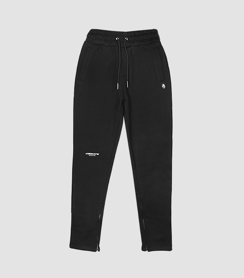 VIBRATE - BASIC SLIM FIT PANTS (BLACK)
