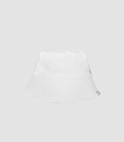 TWIN RING BUCKET HAT (WHITE)