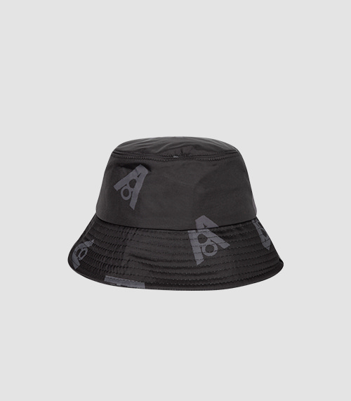 LOGO DOT BUCKET HAT (BLACK)