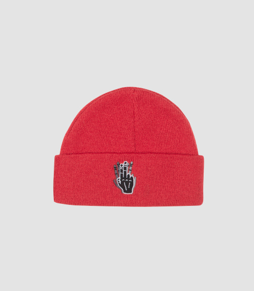 BASIC BEANIE NO.1 (RED)