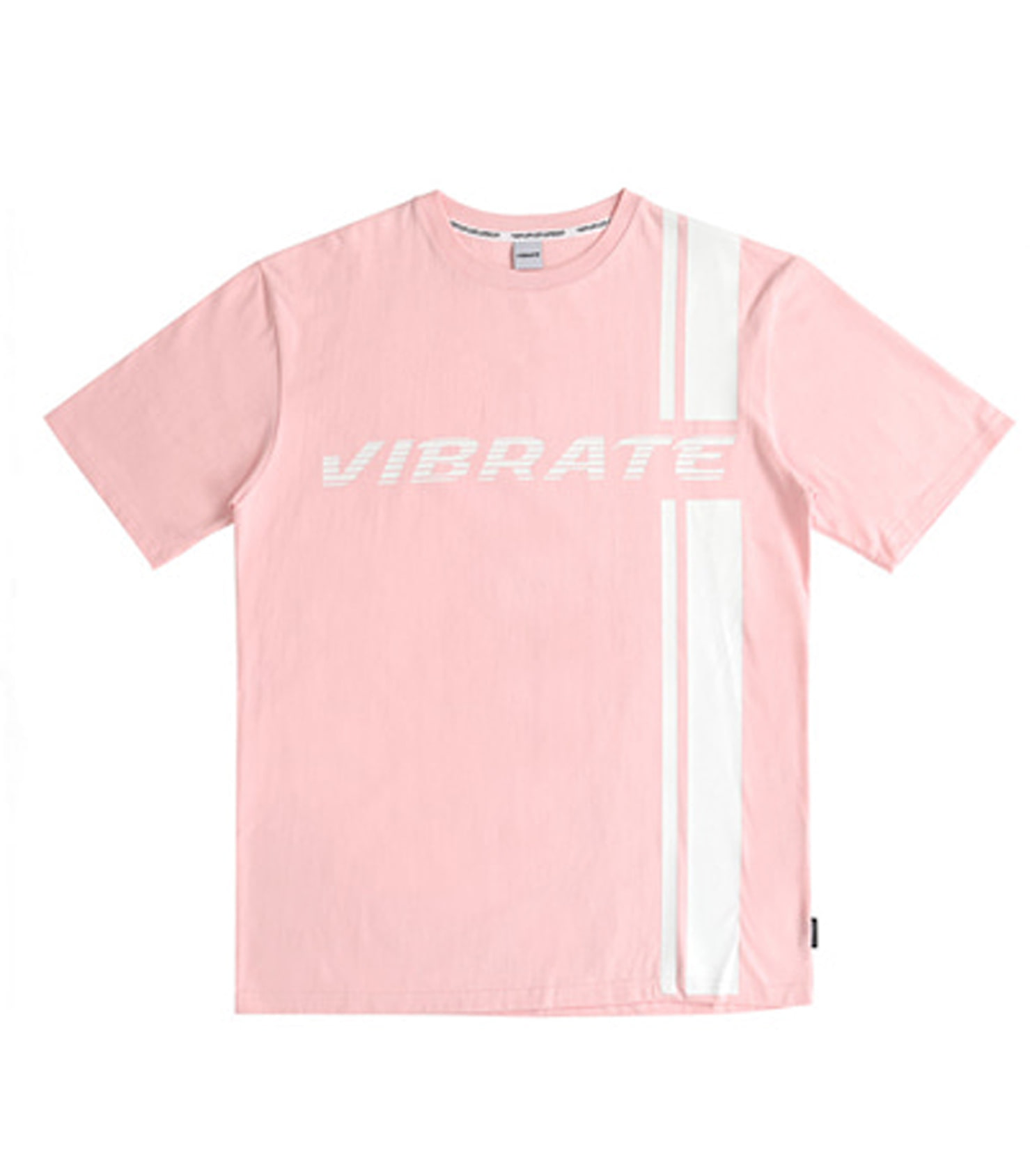 SIDE LINE LOGO T-SHIRT (PINK)