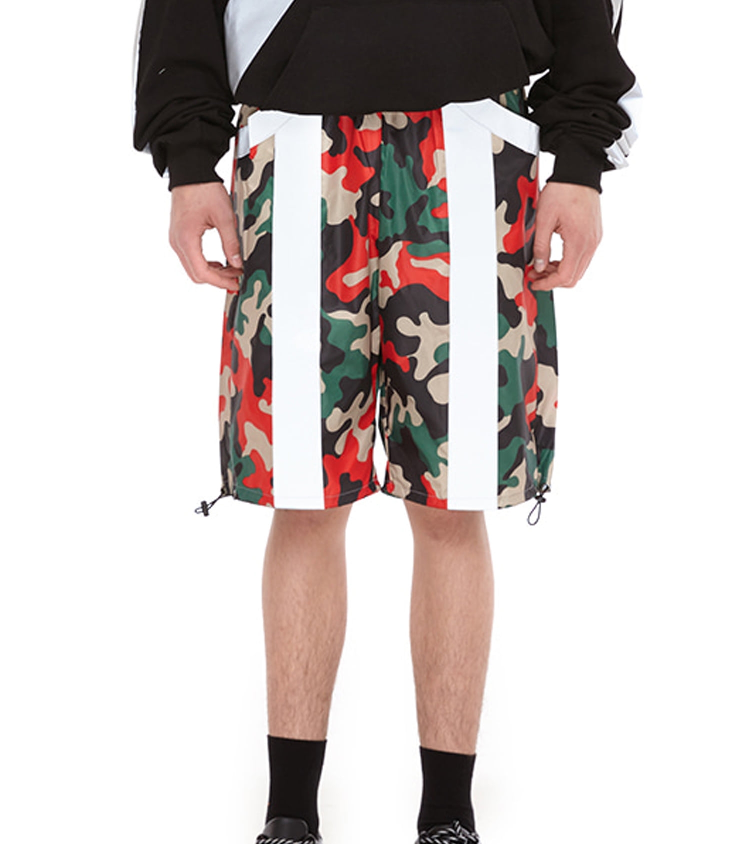SCOTCHLITE SHORT PANTS (RED CAMO)