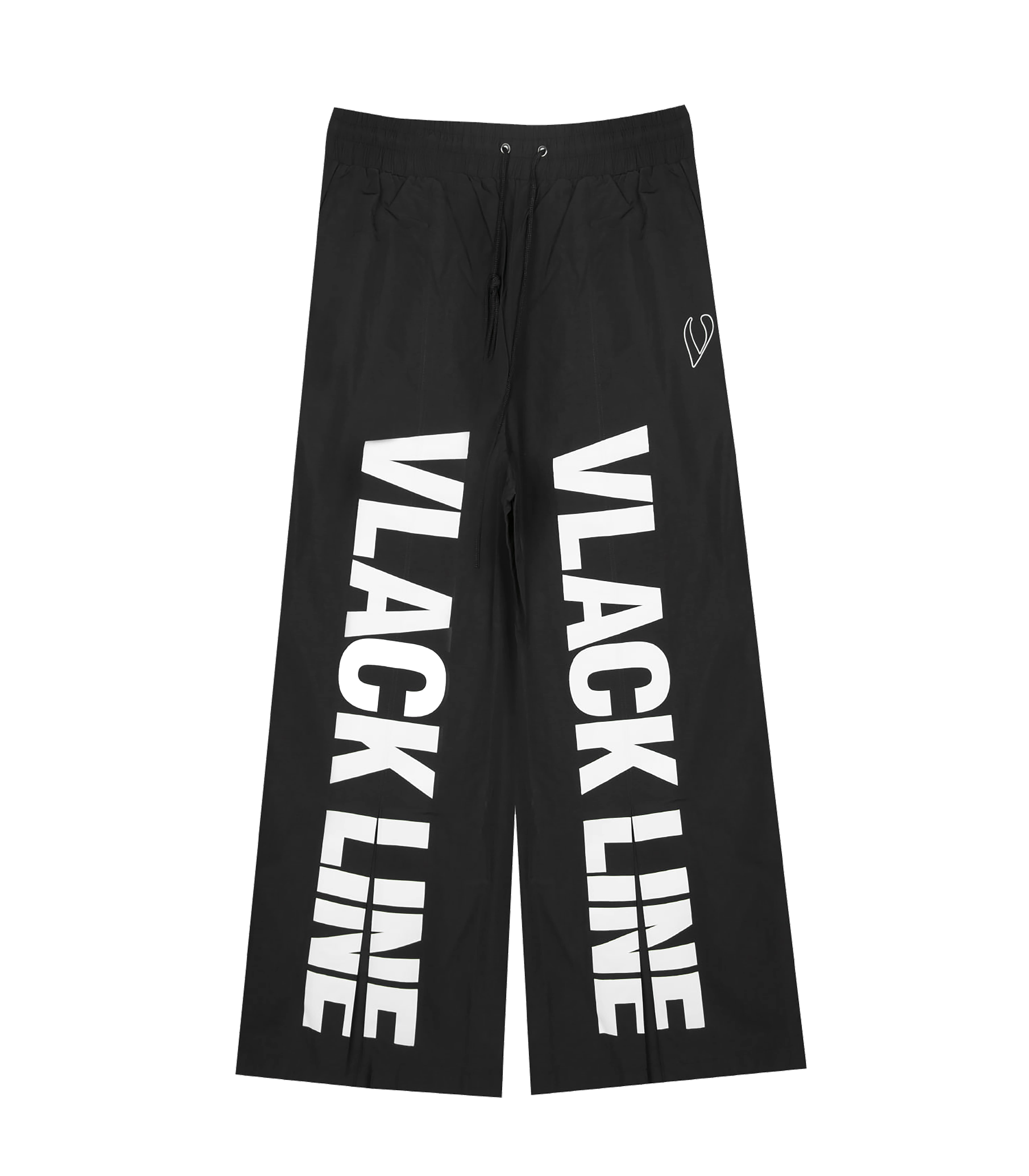 BASIC LOGO SUIT PANTS (BLACK)