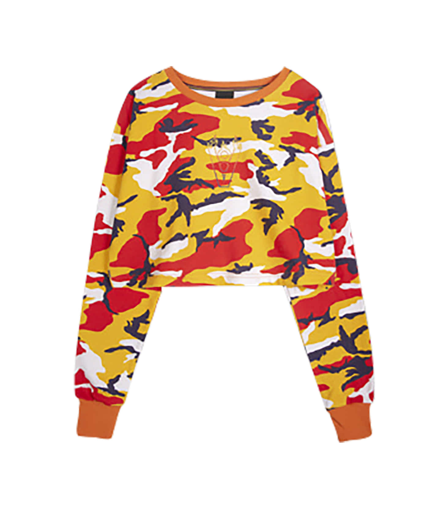 BLAZE LOGO CROP TOP (CAMO)