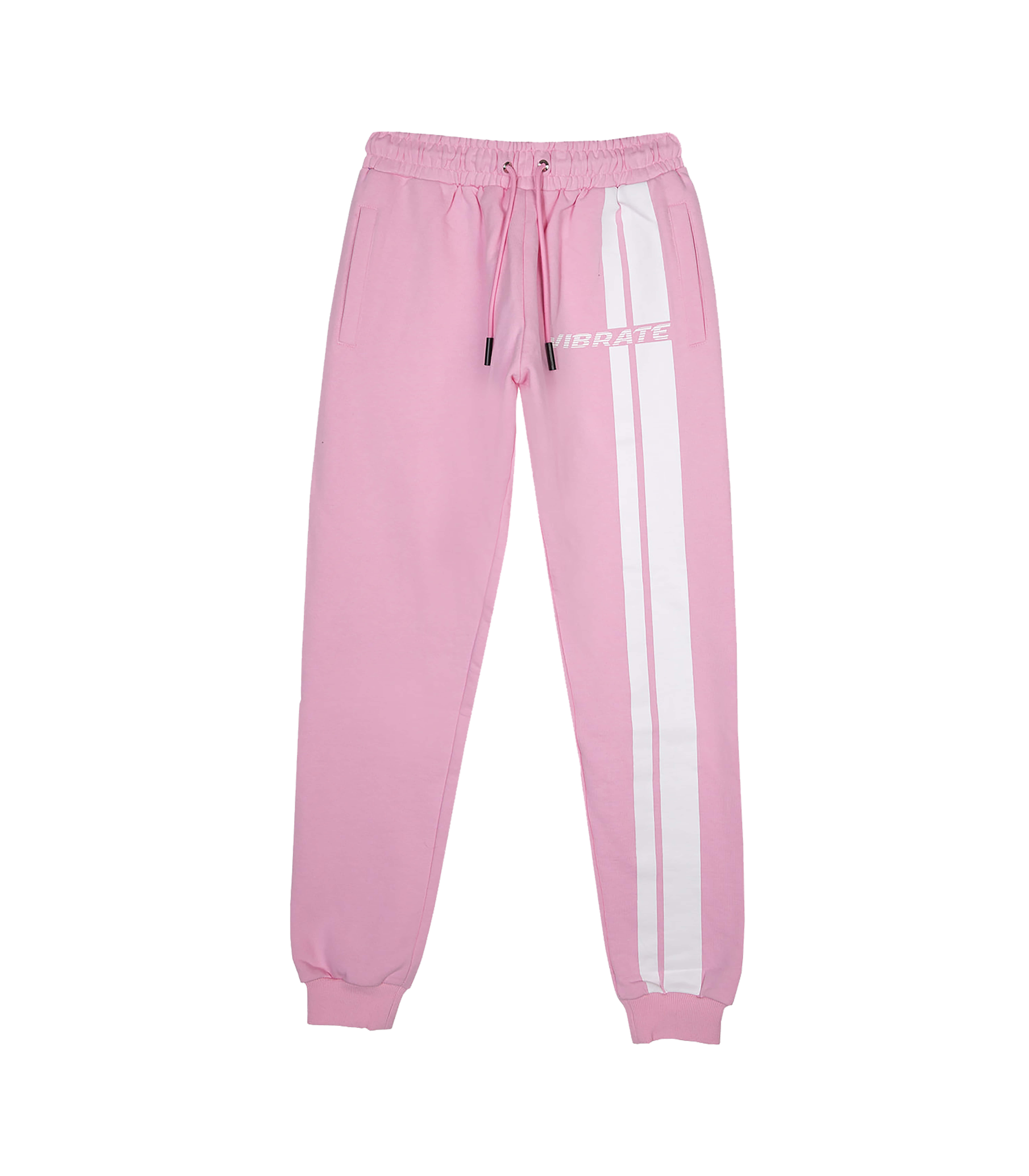 VIBRATE - TRAFFIC ROAD LOGO JOGGER PANTS (PINK)