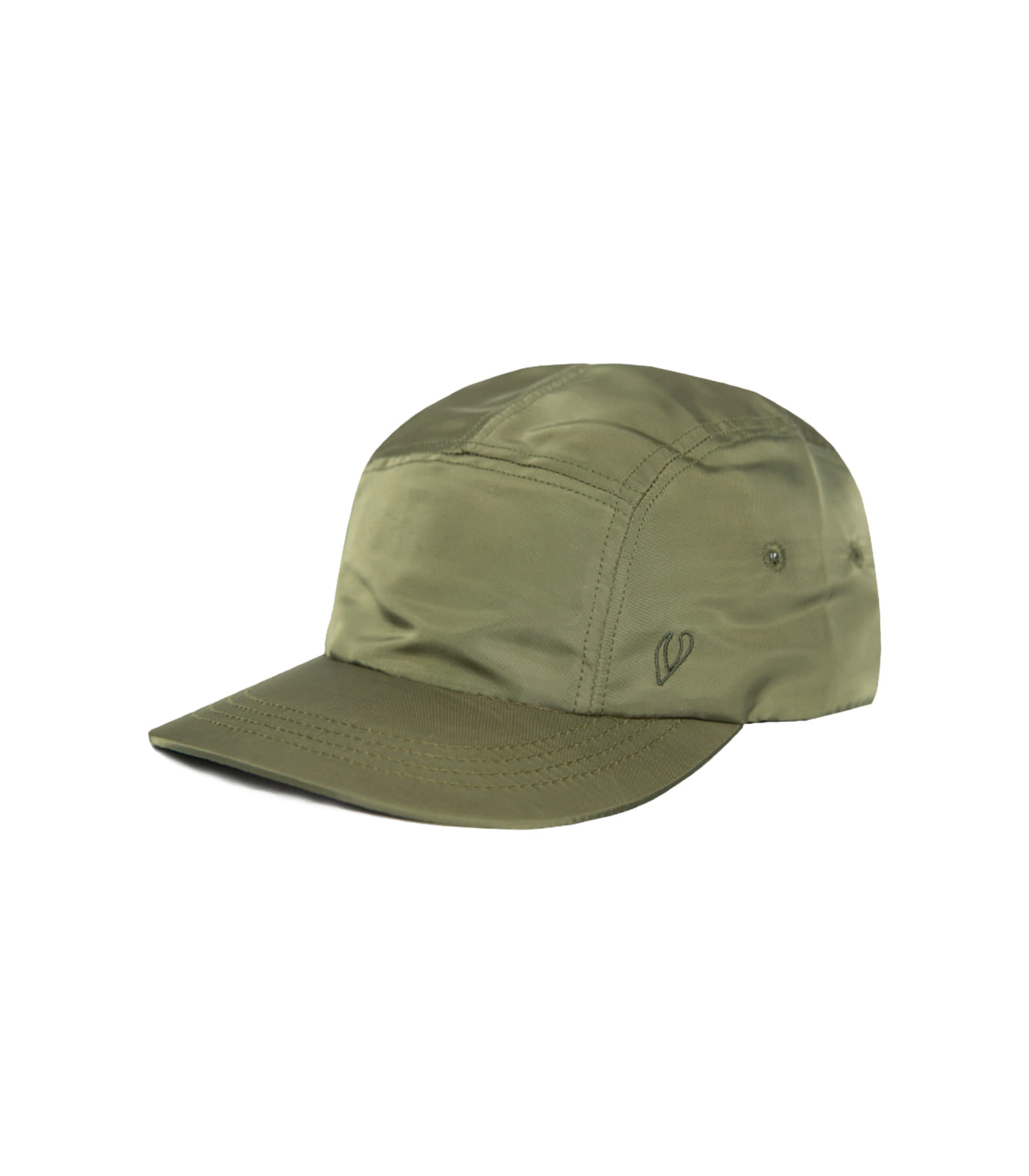 BOX ROUND CAMP CAP (KHAKI)
