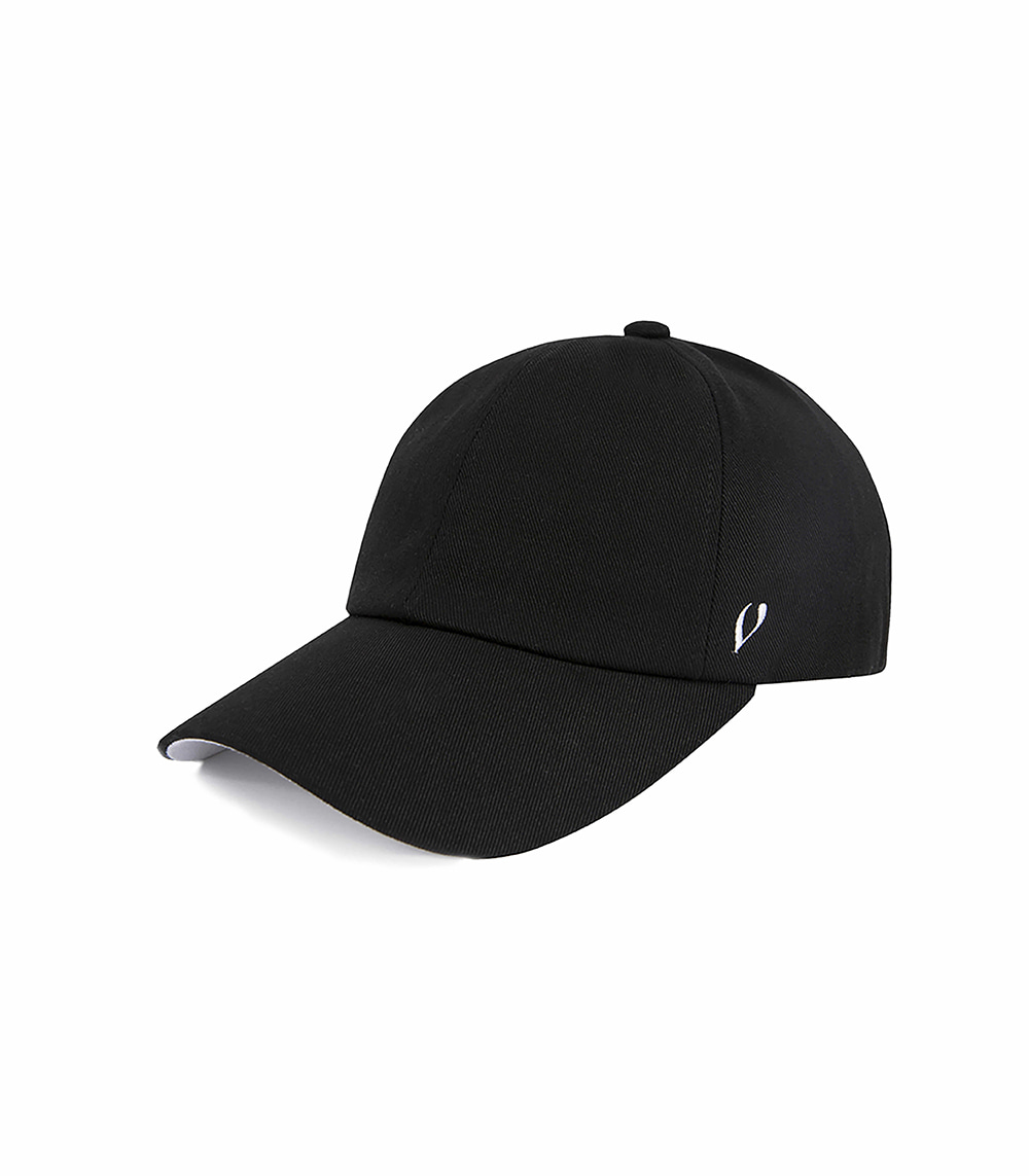 BLACK LINE - DOUBLE SIDE BALL CAP (BLACK)