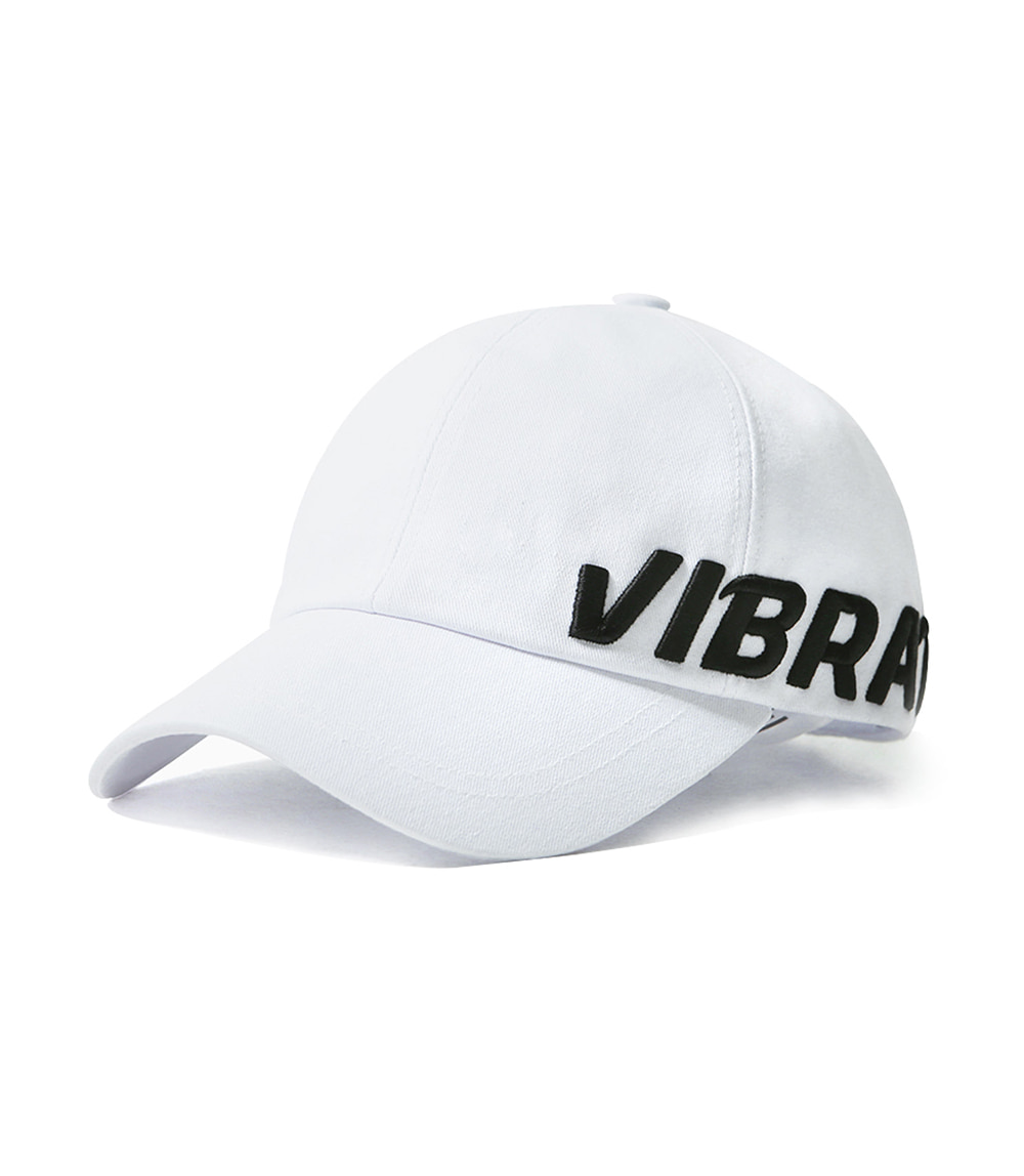 VIBRATE - SIDE SIGNATURE BALL CAP (black&white)