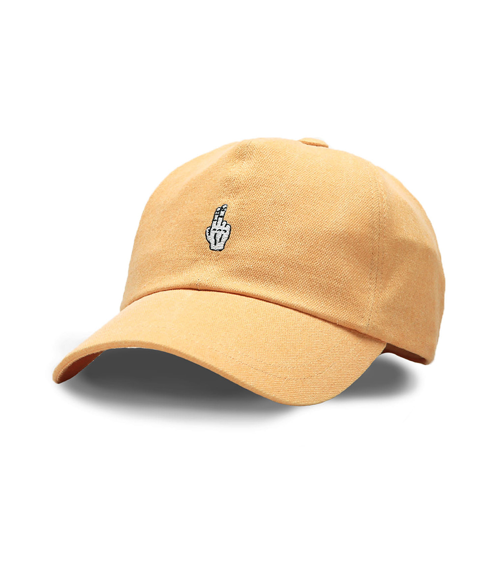 VIBRATE - FINGER BALL CAP (WASHING YELLOW)