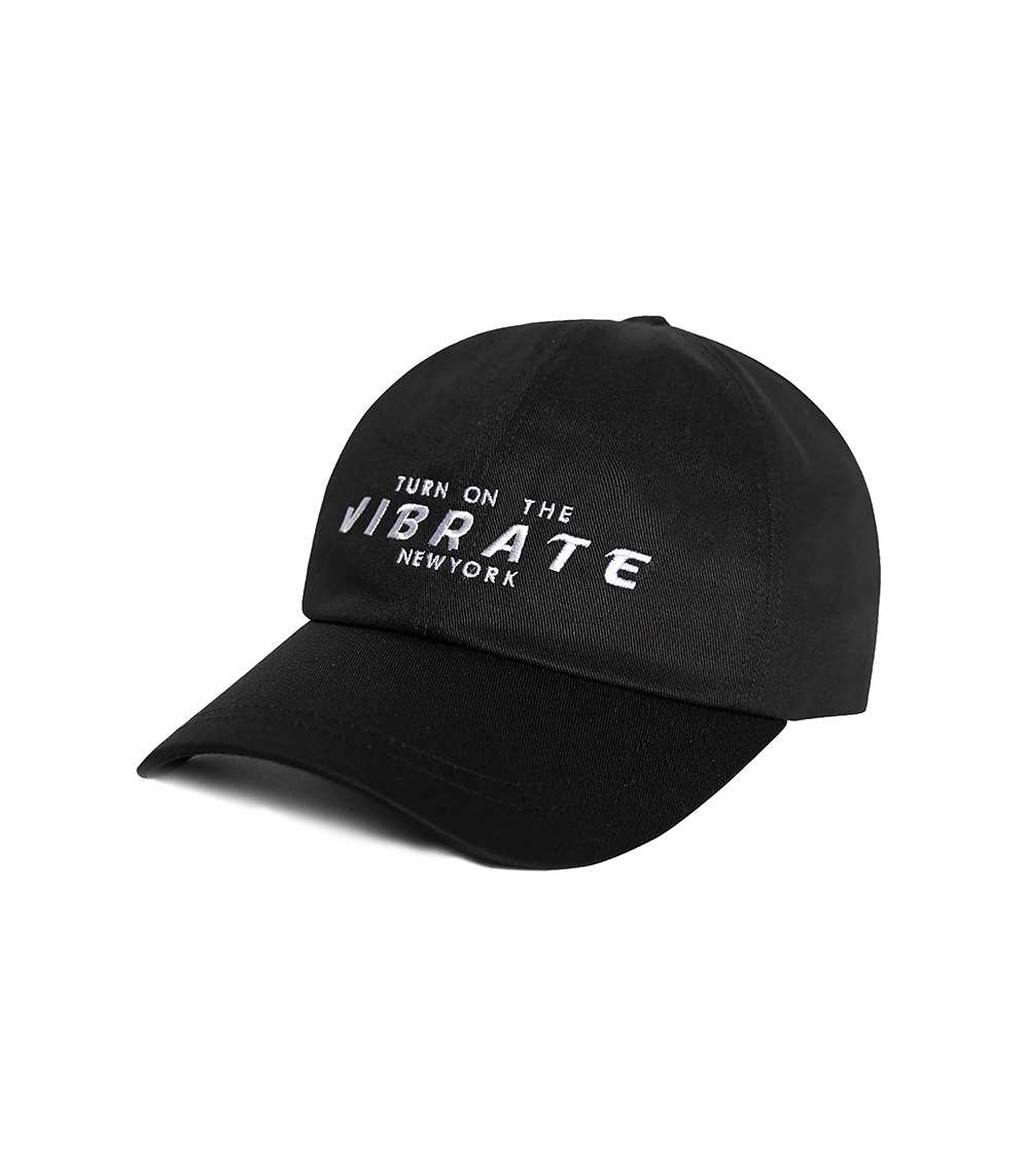 VIBRATE - SPACE BALL CAP (BLACK)