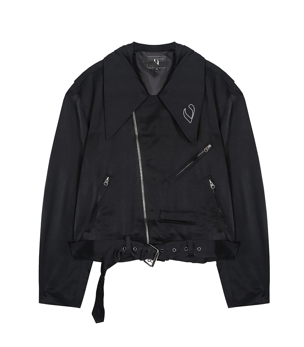 LOOSE FIT RIDER JACKET (BLACK)