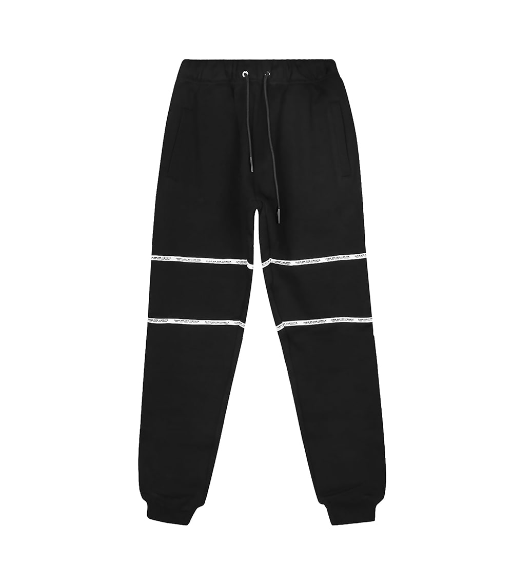 TAPING JOGGER PANTS (BLACK)