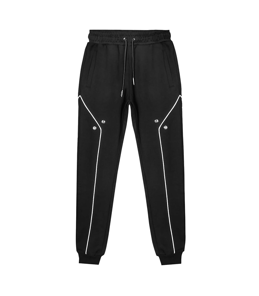VIBRATE - SPACE TRIP LINE JOGGER PANTS (BLACK)