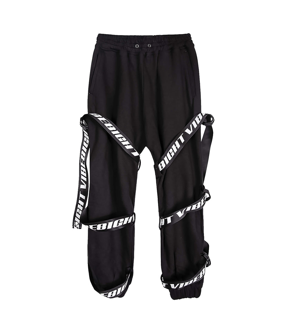TWIN WEBBING JOGGER PANTS