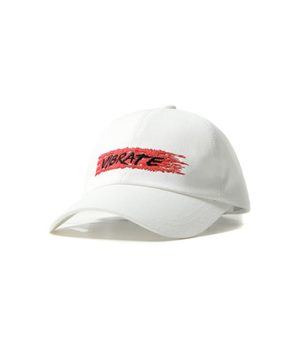 BIT BY BIT BALL CAP (WHITE)