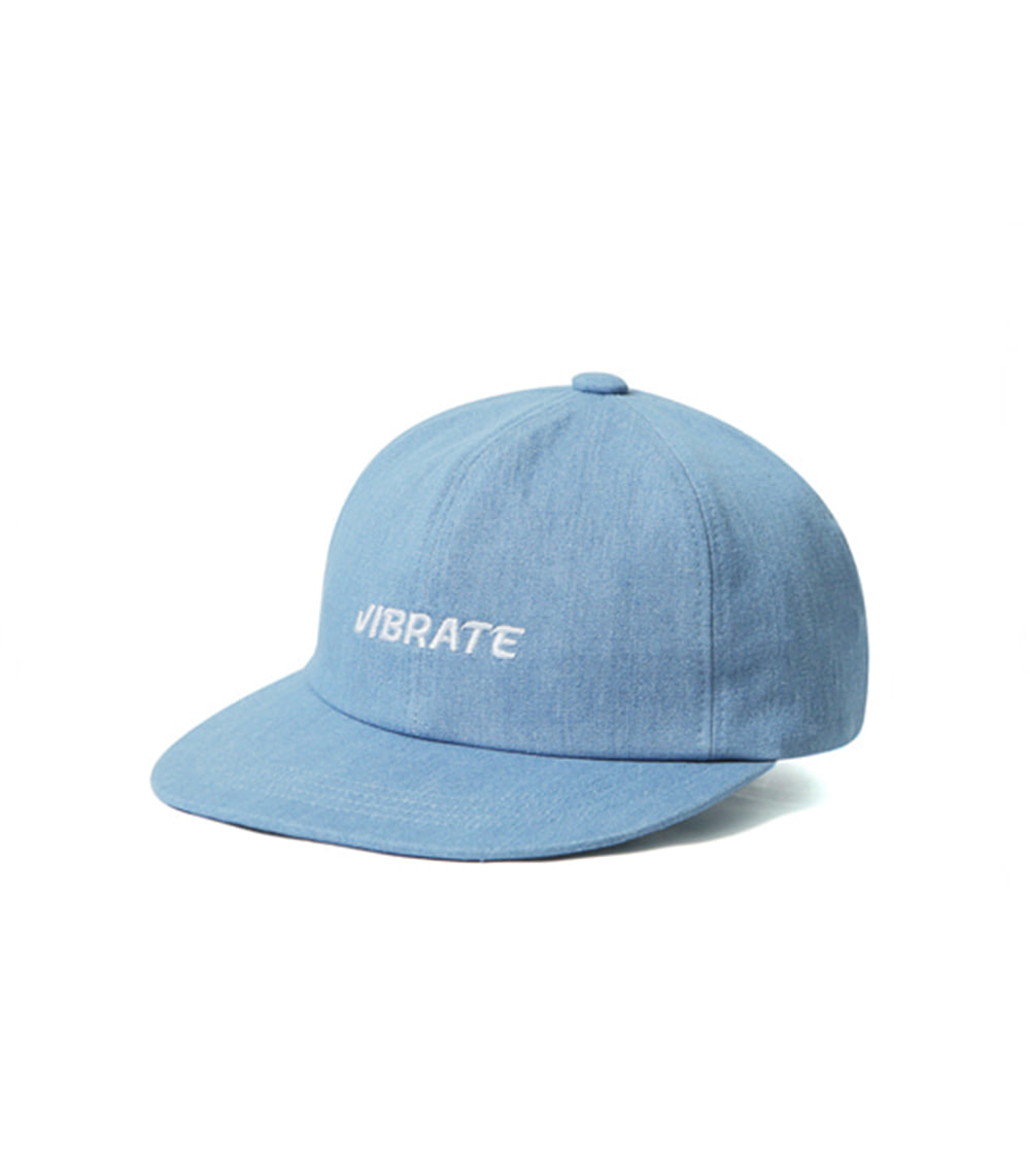RAW STRAP BB CAP (LIGHT DENIM)