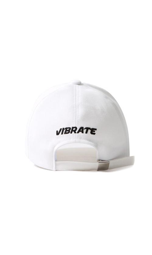 31e224b13ff57 RED LINE BALL CAP (WHITE) - vibrate